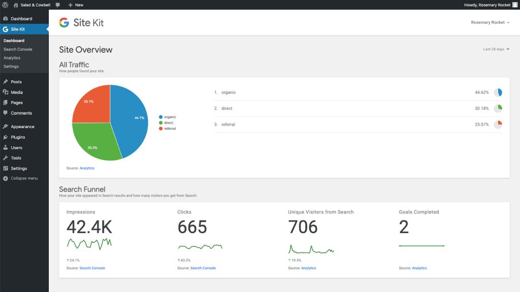 El Plugin Google Site Kit ya está disponible para todos los usuarios de WordPress 2